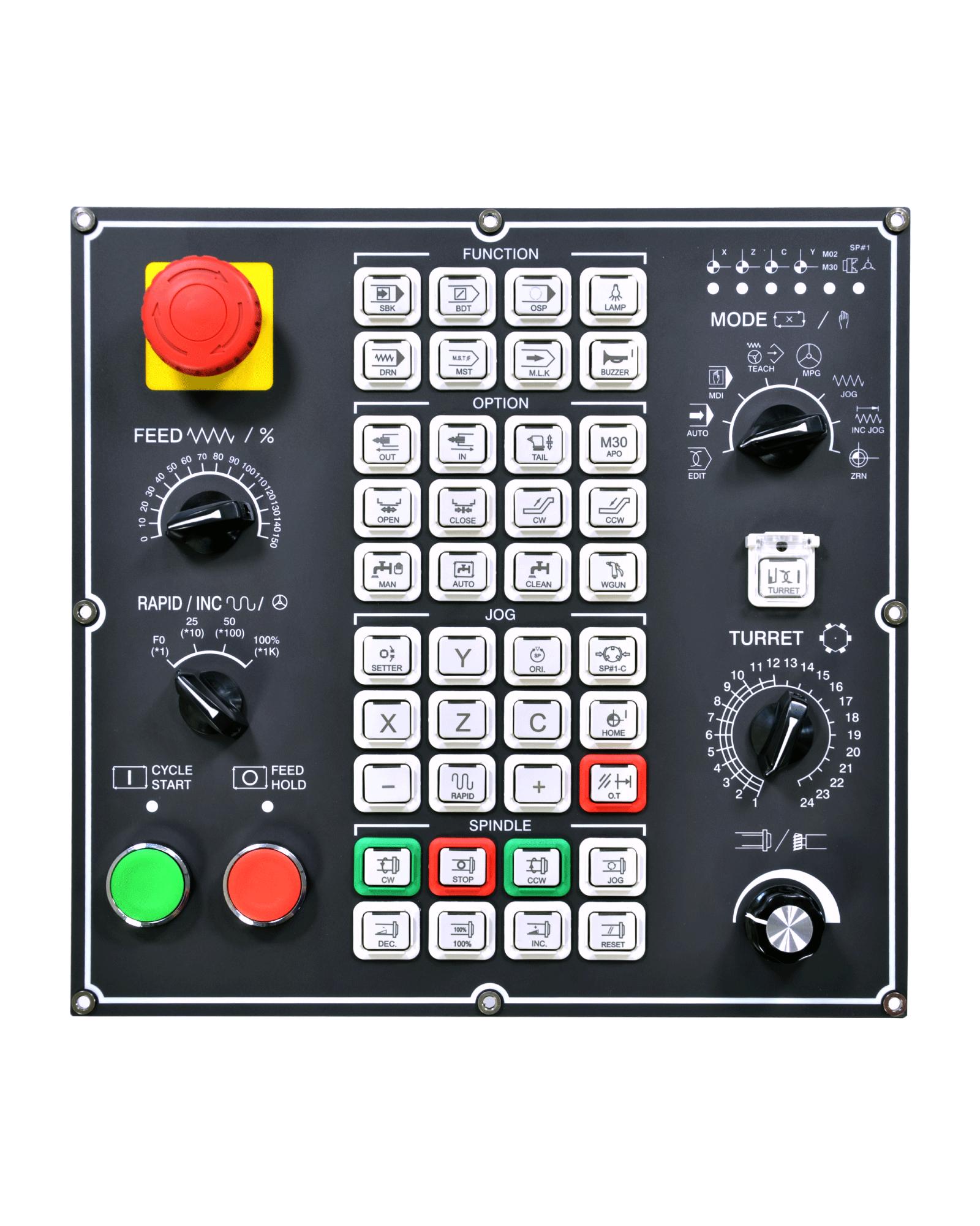 ATC, PLC, CNC MACHINE OPERATOR CONTROL PANEL CUSTOMIZED   Yeu-Lian  Electronics Co., Ltd.