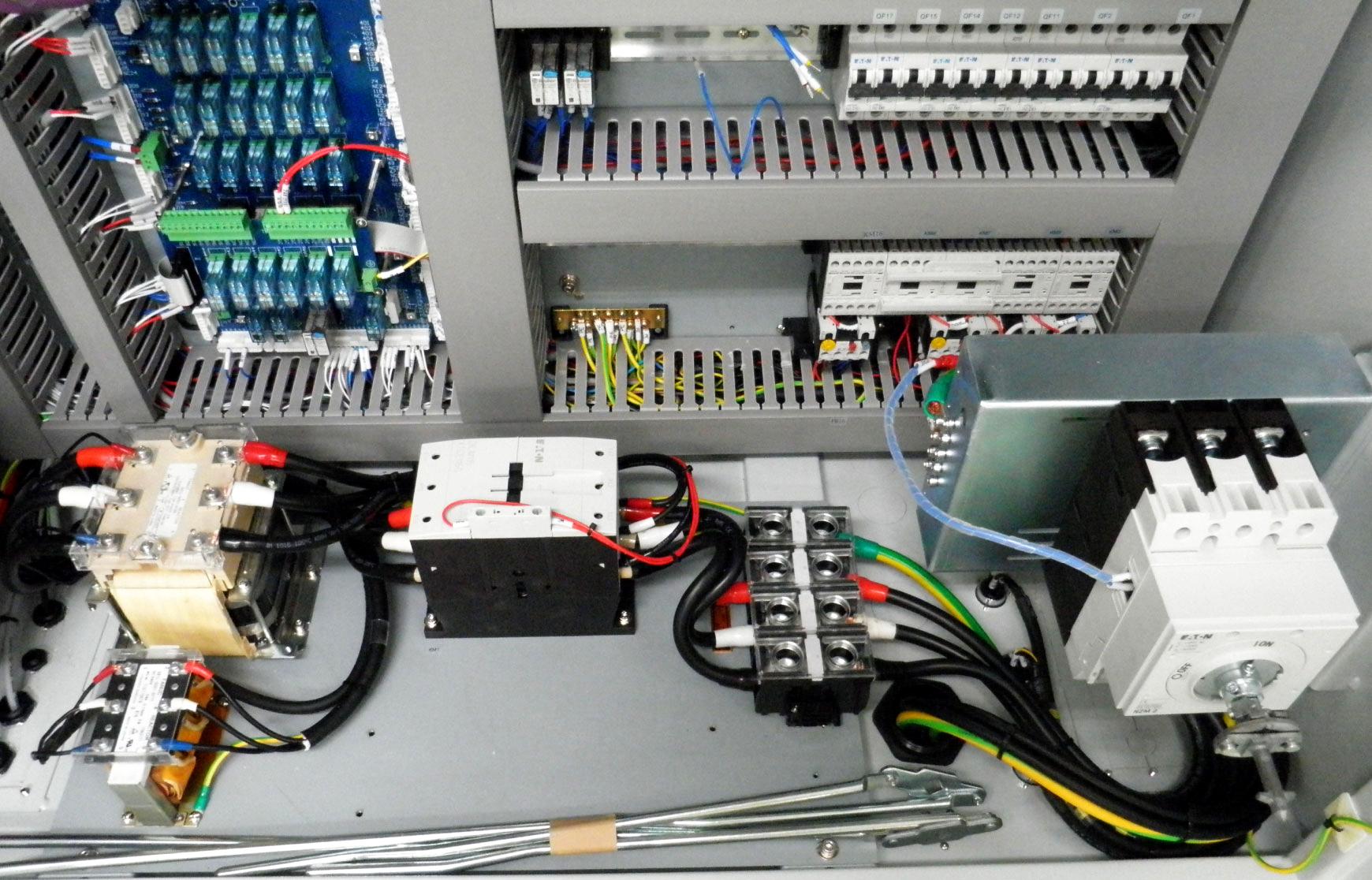 CNC Machine Control Cabinet fabrication and assembly - Yeu-Lian Elec.Manual Pulse Generator, CNC Control Panel - Yeu-Lian Electronics